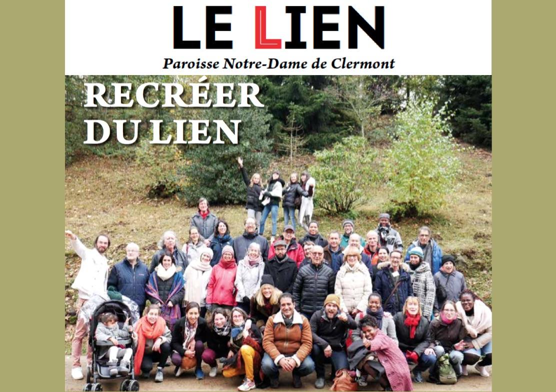 « Recréer du lien » : LE LIEN de juin 2020 [journal trimestriel de Notre-Dame de Clermont] est disponible
