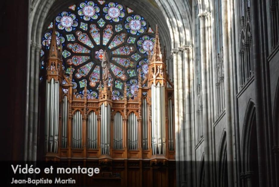 Les Grandes Orgues de la Cathédrale de Clermont en vidéo sur la chaîne YouTube NDC3