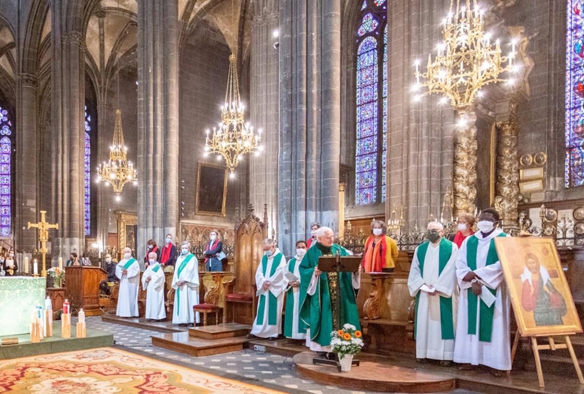 Retour en images sur la messe de rentrée de la paroisse Notre-Dame de Clermont le 27 septembre 2020