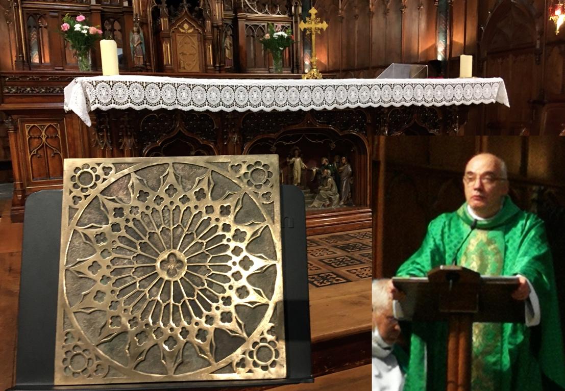 Retour en images sur la messe d'au revoir au Père Alain Croze [actualisé le 10 septembre]