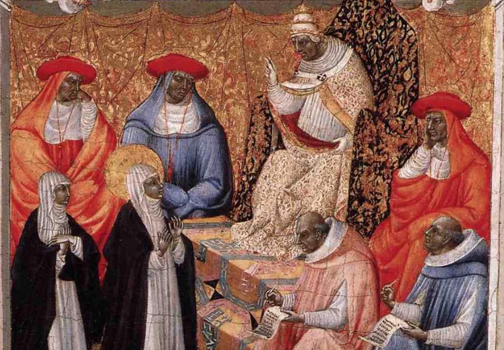 Ces saints qui ont vécu de grandes épreuves – Sainte Catherine de Sienne, l'analphabète qui conseille les Papes!