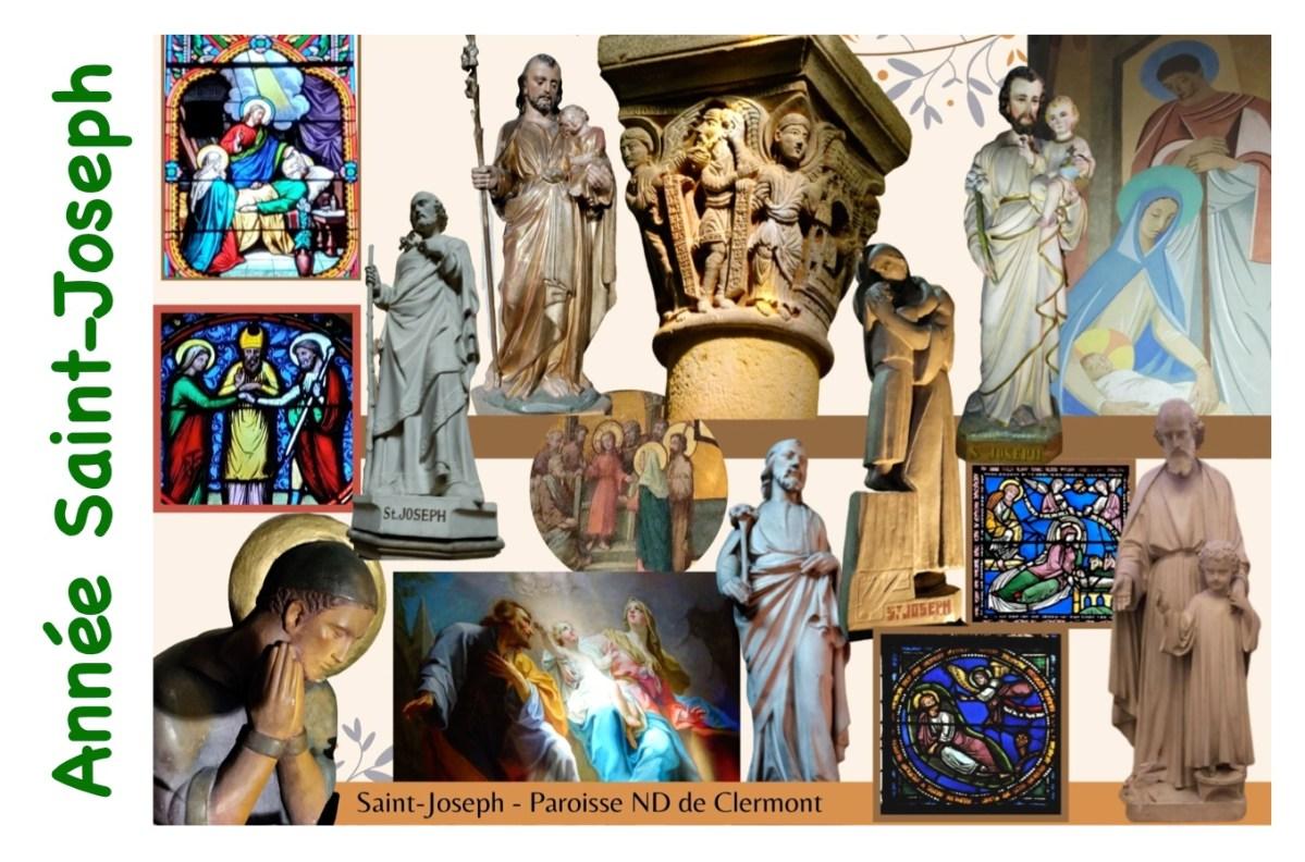 « Année Saint-Joseph » – Visitons les représentations du Patron de l'Église universelle dans nos églises