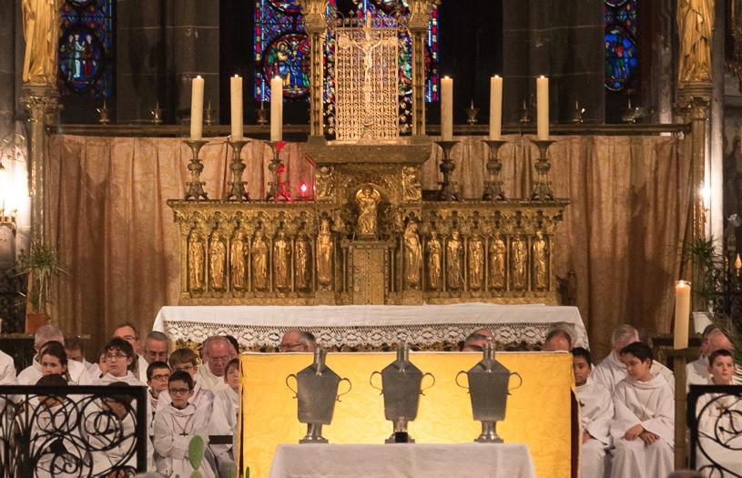 Mardi 30 mars 2021 à 10 h : messe Chrismale célébrée par Mgr François Kalist à la Cathédrale