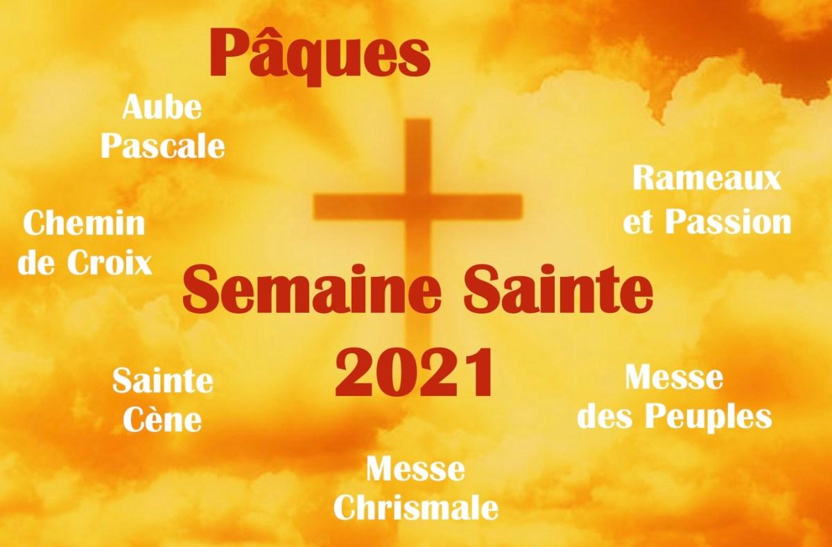 Semaine Sainte et Pâques 2021 : tous les horaires de la paroisse Notre-Dame de Clermont