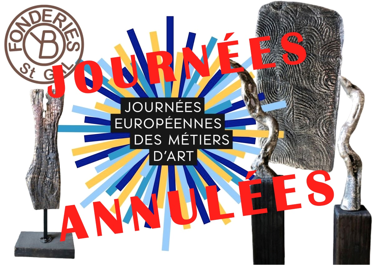ANNULATION des Journées Européennes des Métiers d'Art qui étaient prévues du 6 au 11 avril