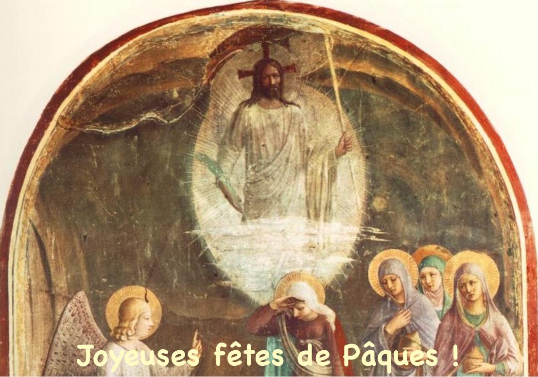 Pâques 2021 dans la paroisse Notre-Dame de Clermont : tous les horaires