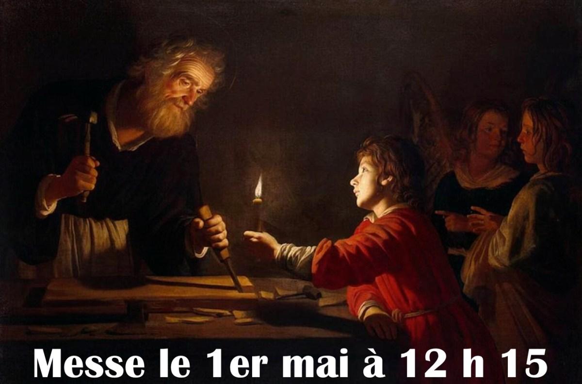 En cette année qui lui est dédiée, fêtons saint Joseph artisan le 1er mai à Saint-Pierre-les-Minimes