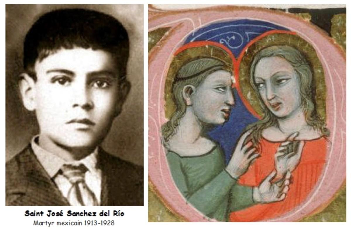 Ces saints qui ont vécu de grandes épreuves – Perpétue et Félicité, et José Sanchez del Rio, martyrs