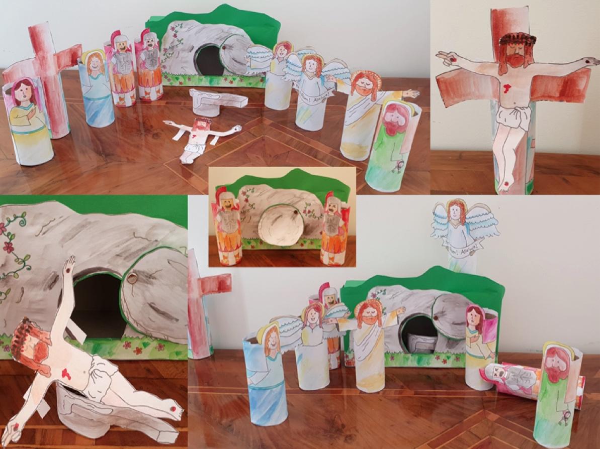 « Ma Semaine Sainte 2021» pour les enfants : Dimanche de Pâques