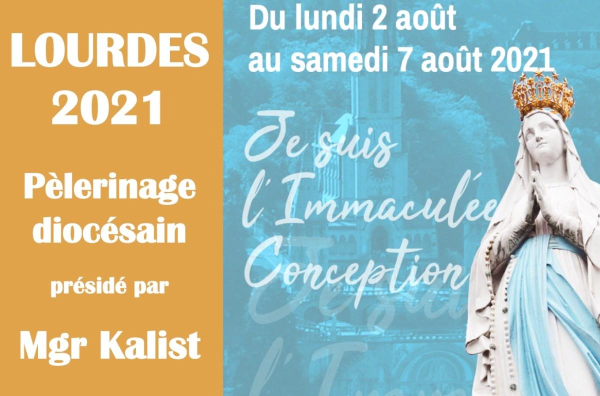 «Je suis l'Immaculée Conception» : pèlerinage diocésain à Lourdes du 2 au 7 août 2021