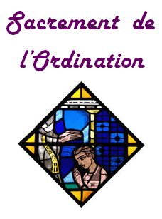 le sacrement de l'ordination
