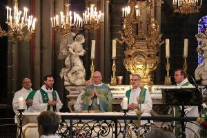 Retour en photos sur l'installation des prêtres «in solidum» le 24 septembre à Riom
