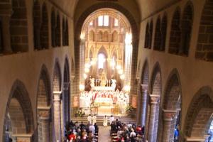 Messe d'installation des curés «In solidum» le 24 septembre 2017 à Riom
