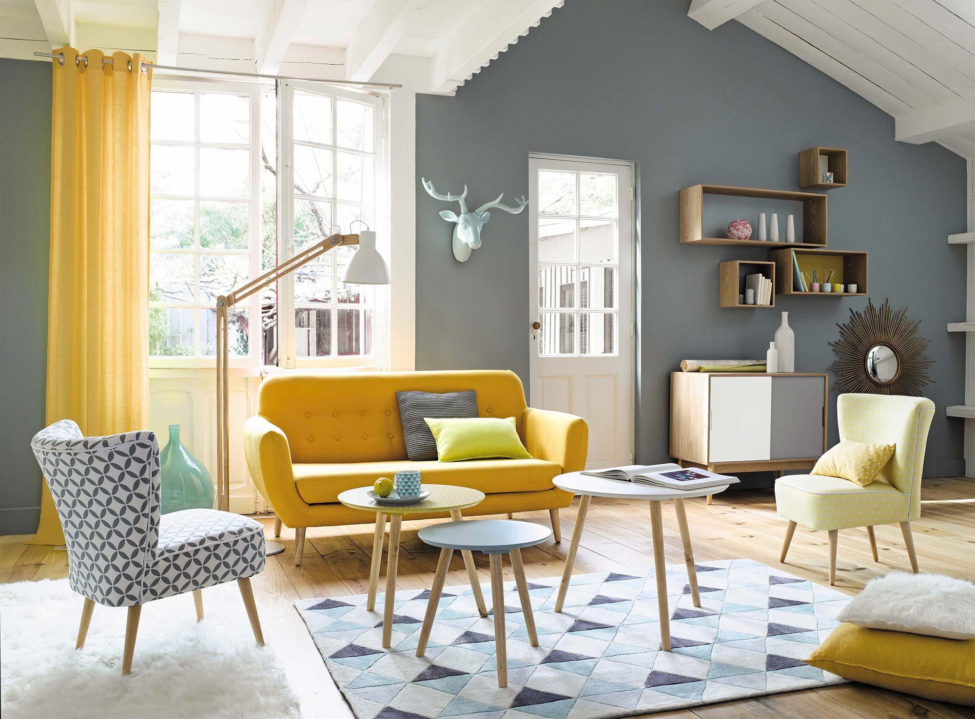 Chambre Vintage Scandinave   Planche Tendance Idées Décoration Style ...