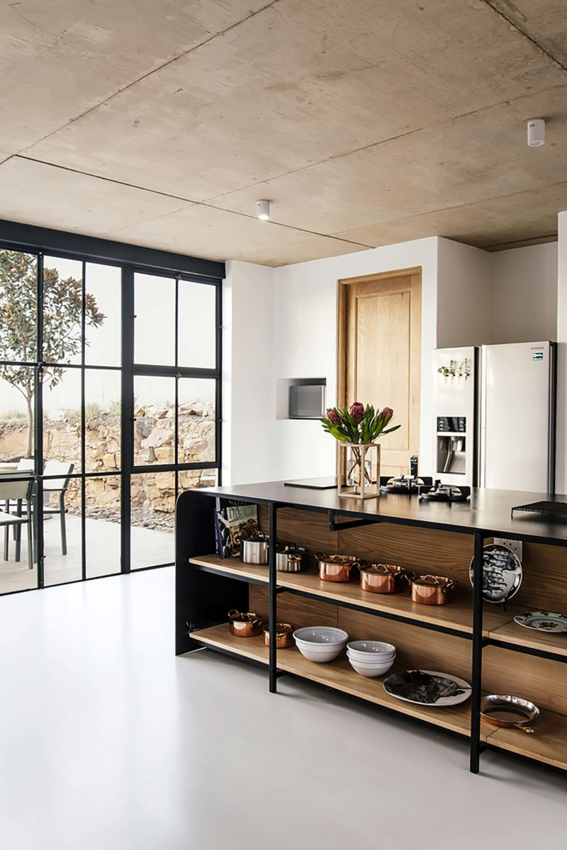 Style Industriel Pour Une Maison D Architecte