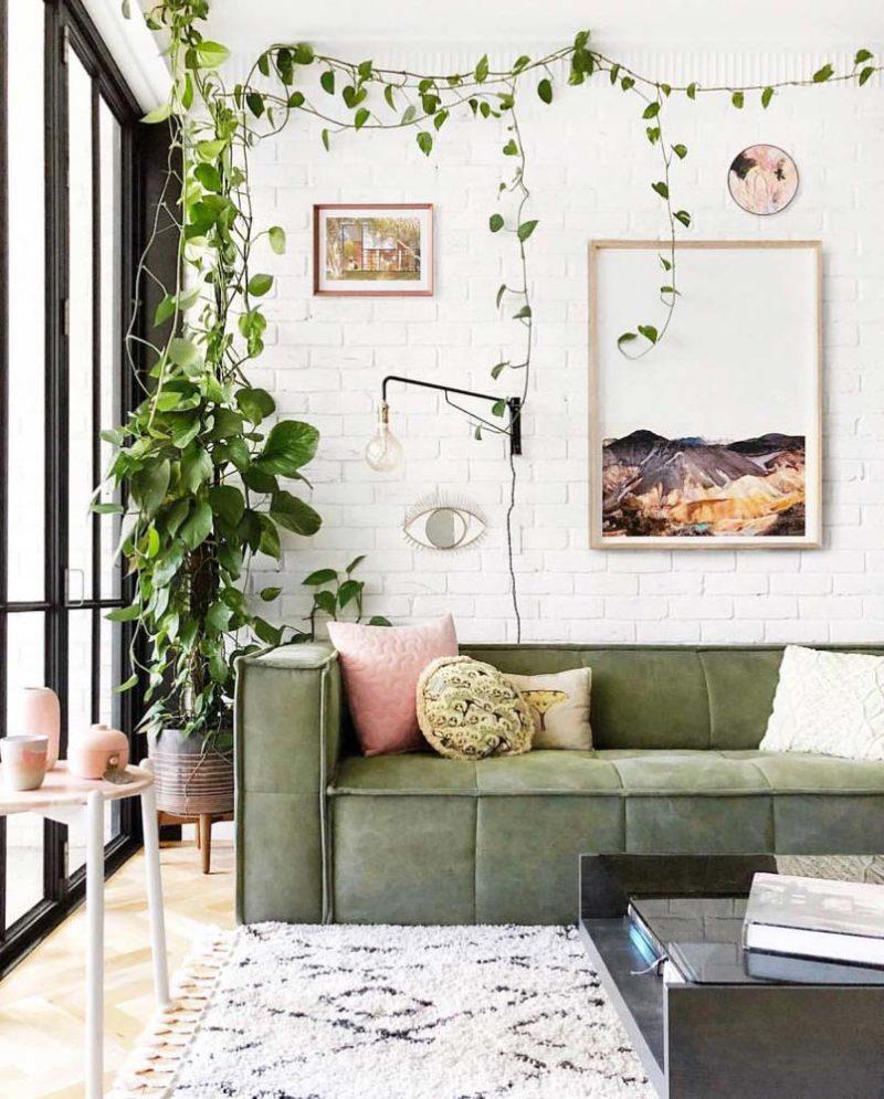Décoration D\'intérieur Vert Olive