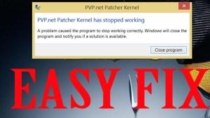 PvP Kernel Not Responding