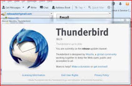 Mozilla Thunderbird not responding | Not Responding