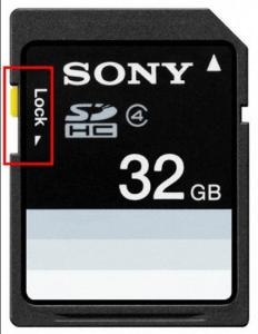 Micro SD Card locked