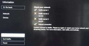 Fix Netflix error NW-2-5