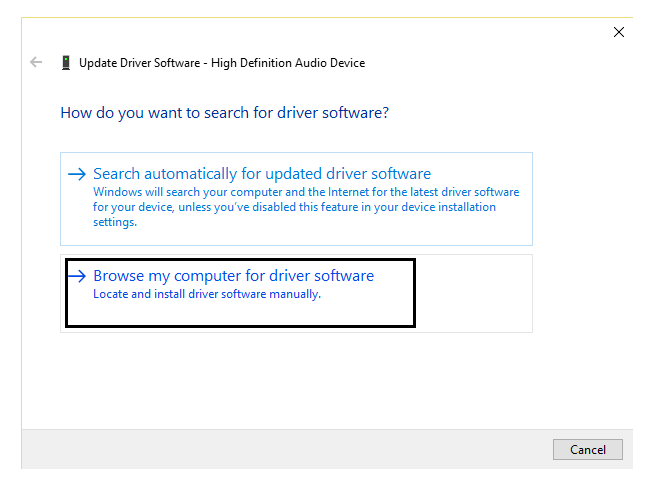 Headphones not working on Windows 10