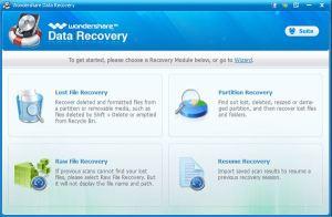 memory card recovery-wondershare