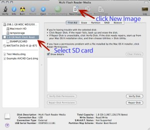 Unmounted SD Card