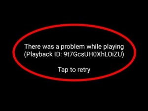 Playback ID Error Google Chrome