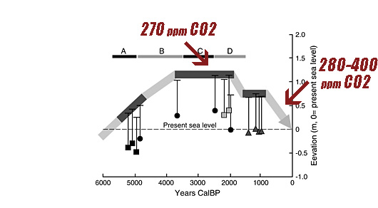 30 Scientific Papers Reveal Inverse CO2