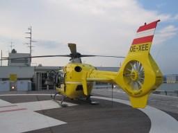 Übernahme von Hubschrauber-Patienten im Krankenhaus 01