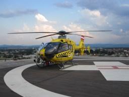 Übernahme von Hubschrauber-Patienten im Krankenhaus02