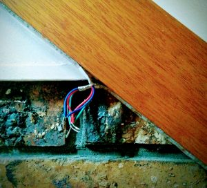 wiring stair lighting light strip