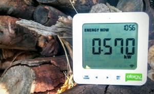 Power Consumption Meter efergy e2 classic outside