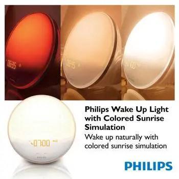 Philips wake-up light multi colors australia