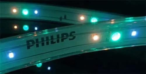 3 leds philips hue light strip plus