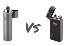 saberlight vs tesla coil arc lighter
