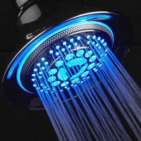 LED Light Up Shower Head Review   Bathroom Party Anyone ...