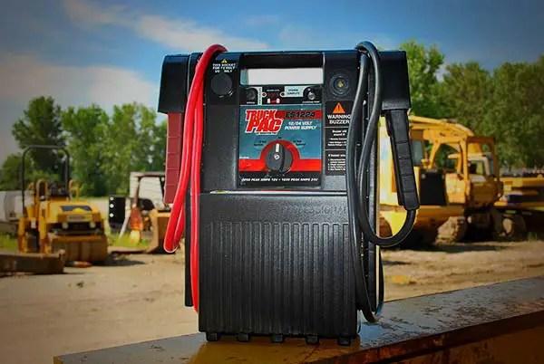 Truck Pac heavy duty jump starter for diesel trucks