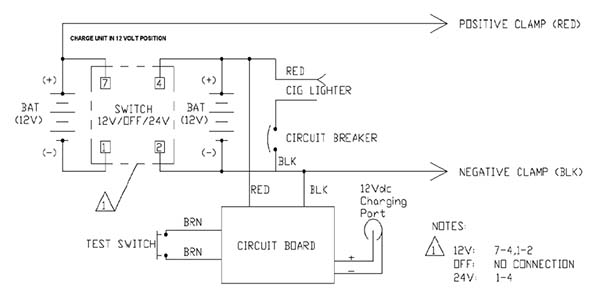 truck pac wiring diagram 12v 24v