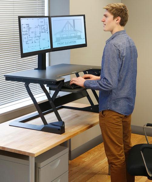 Standing Desk Converter