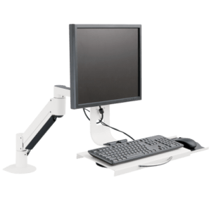 Innovative 7509 – Data Entry Monitor Arm and Keyboard Tray