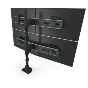 Innovative Two-Tier Quad Monitor Mount 9136-Switch-D-FM