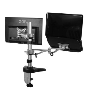 FLEXIMOUNTS M14 dual arm Desk Laptop Mount Lcd arm