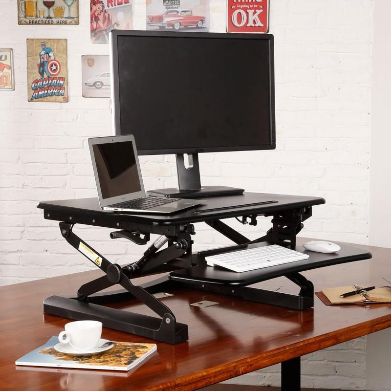 FlexiSpot M1 27 Adjustable Sitstand Desk  NotSittingcom
