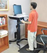 WorkFit-C, Single LD Sit-Stand Workstation 4