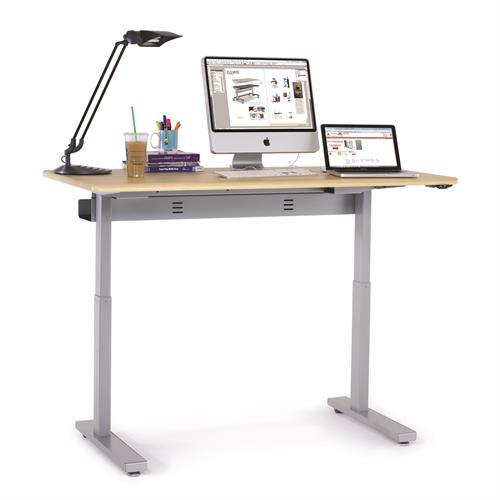 elevate 60 electric sit stand desk. Black Bedroom Furniture Sets. Home Design Ideas