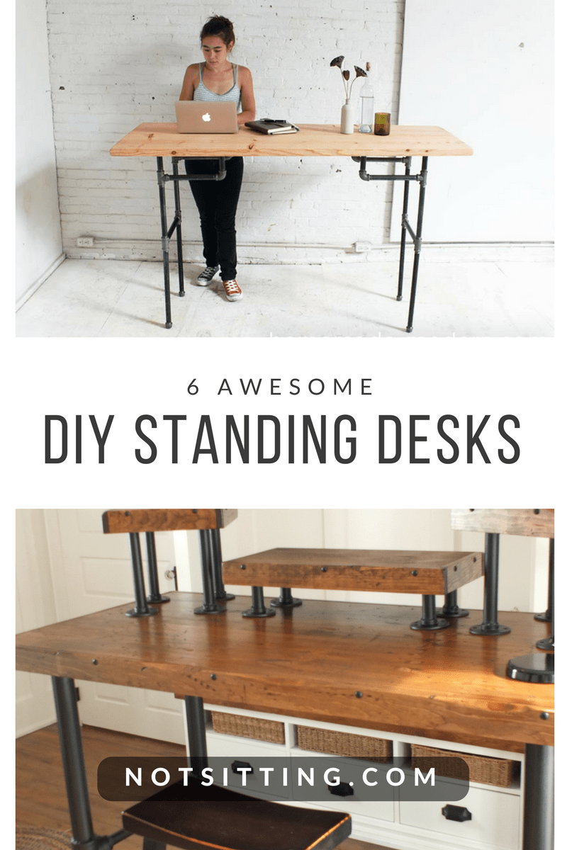 6 DIY Standing Desks You Can Build Too NotSittingcom