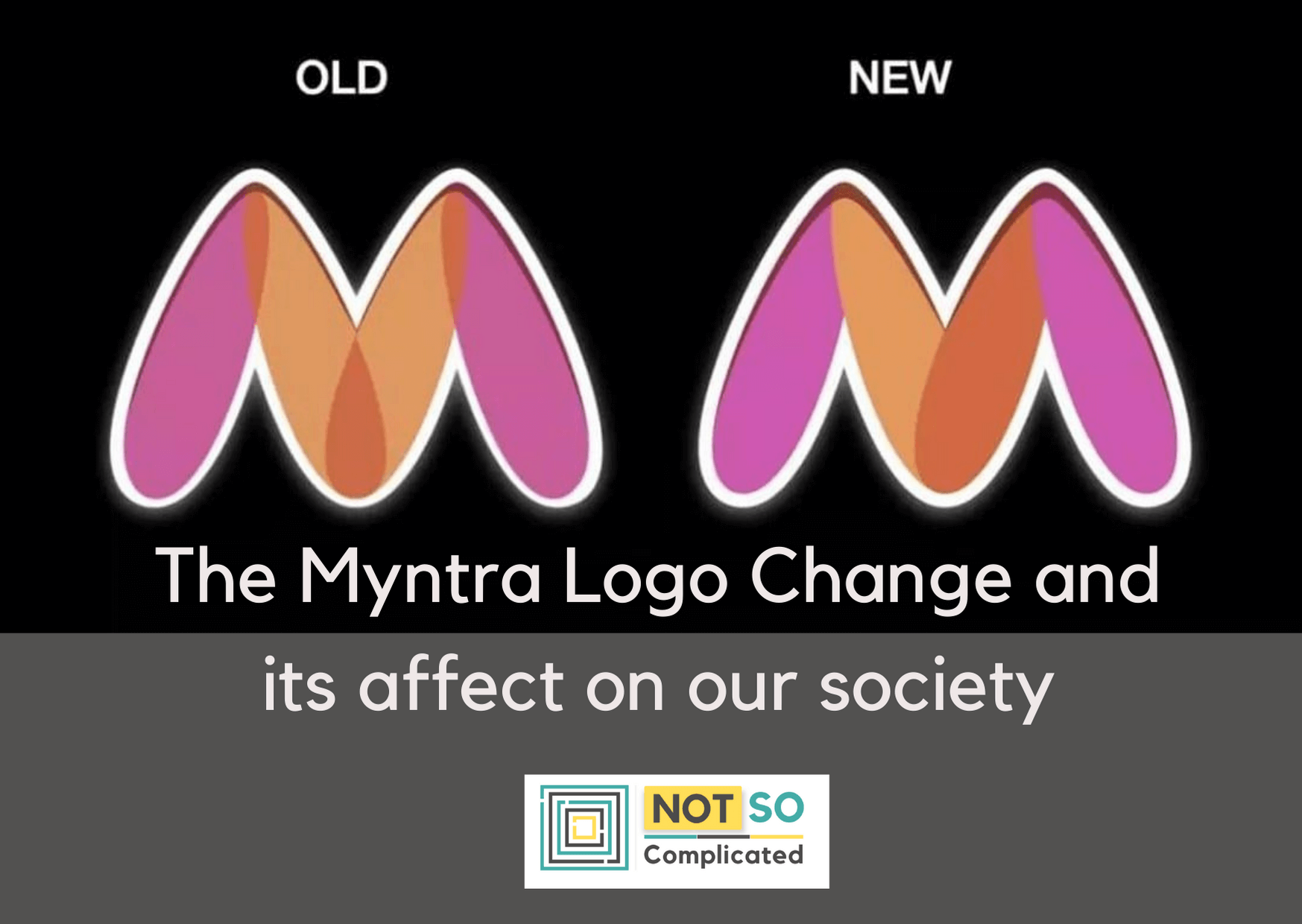 Why did 'Myntra Logo Change' made headlines? Read to find out!