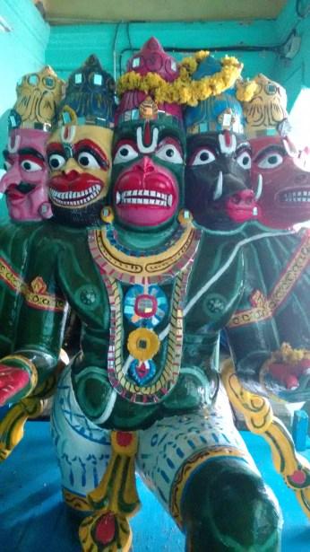 panchamukha anjaneya vahanam