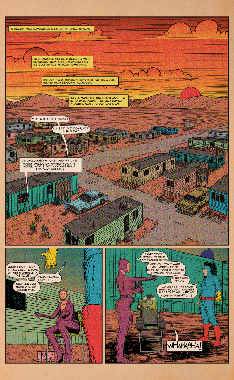 Issue #1 – Page 1